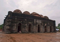 Choto Shona Mosque (Mughal Style) in North Bengal