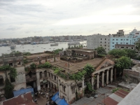 Top view of Ruplal House in Old Dhaka