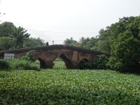 A classic example of a Mughal bridge