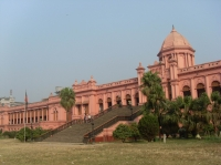 Ahsan Manzil, also known as the pink palace