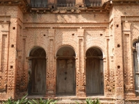 Brickwork on a trader's palace, Sonargaon